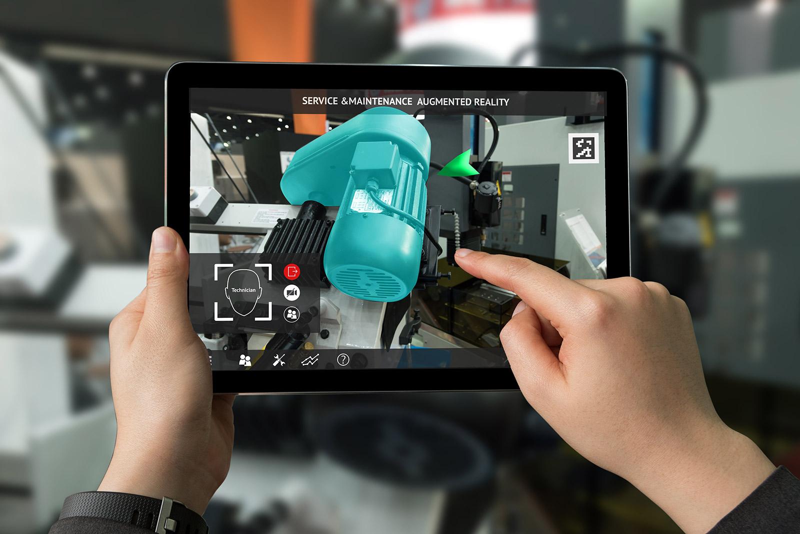 AR-Buddy Industrie Simulation