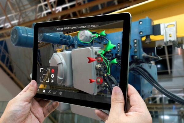 Augmented Reality AR-Buddy App Industrie